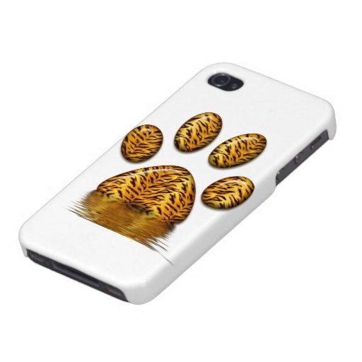 Pata #2 del tigre iPhone 4 coberturas