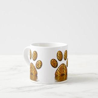 Pata #2 del tigre taza espresso