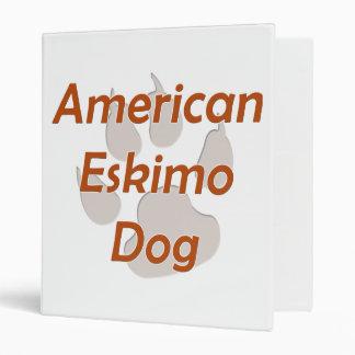 "Pata americana del perro esquimal carpeta 1"""