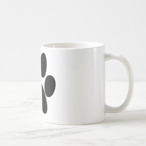 Pata animal tazas de café