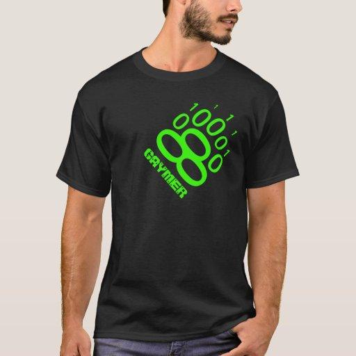 Pata de oso binaria de Gaymer (verde) Playera