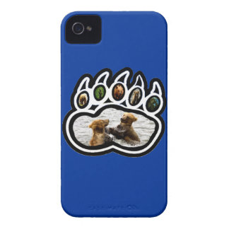 Pata de oso carcasa para iPhone 4