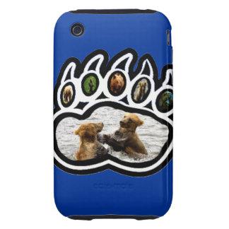 Pata de oso carcasa though para iPhone 3