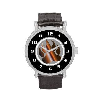 Pata de oso DE ACERO blanca de Black& BROWN del Relojes