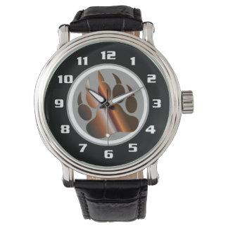 Pata de oso DE ACERO blanca de Black& BROWN del Relojes De Mano