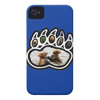 Pata de oso funda para iPhone 4