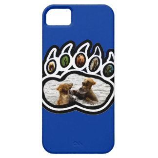 Pata de oso funda para iPhone SE/5/5s