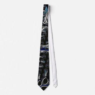 Pata de oso grizzly corbata personalizada