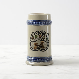Pata de oso jarra de cerveza
