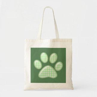 pata del gato de la guinga - verde bolsas