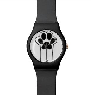 Pata del gato reloj