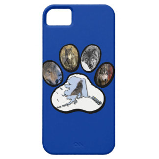 Pata del lobo de Alaska Funda Para iPhone SE/5/5s