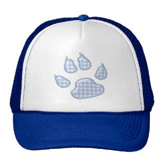 pata del perro de la guinga - azul gorros
