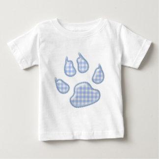 pata del perro de la guinga - azul t shirt