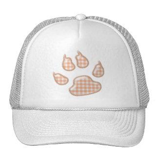 pata del perro de la guinga - naranja gorras