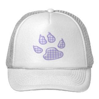 pata del perro de la guinga - púrpura gorras de camionero