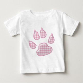 pata del perro de la guinga - rosa t-shirts
