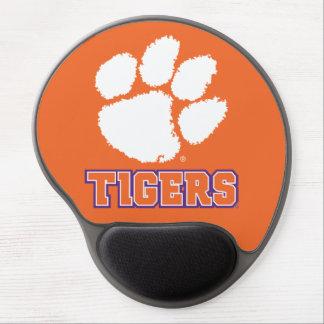 Pata del tigre de la universidad de Clemson Alfombrilla Gel