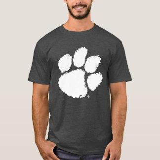 Pata del tigre de la universidad de Clemson Playera