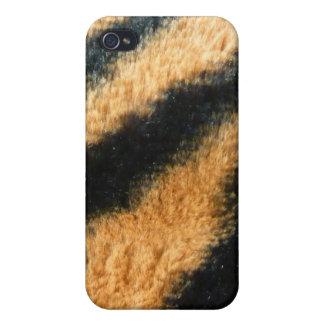 Pata del tigre iPhone 4 carcasa