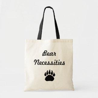 pata, necesidades del oso bolsa tela barata