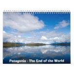 Patagonia de 2013 calendarios - el extremo del