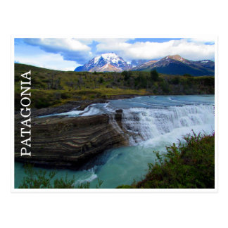patagonia falls postcard