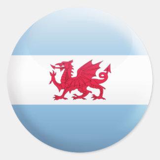Patagonia Flag Sticker