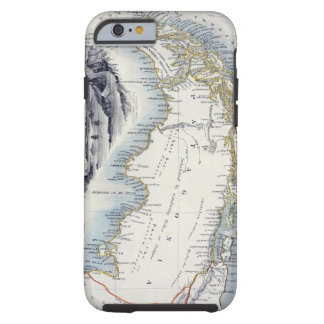 Patagonia, from a Series of World Maps published b iPhone 6 Case