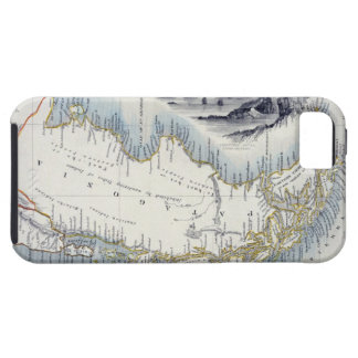 Patagonia, from a Series of World Maps published b iPhone 5 Cases