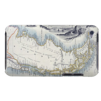 Patagonia, from a Series of World Maps published b Case-Mate iPod Touch Case