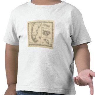 Patagonia grupo del sur de las Orcadas o de Powell Camisetas