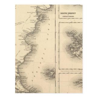 Patagonia grupo del sur de las Orcadas o de Powell Postal