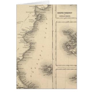 Patagonia grupo del sur de las Orcadas o de Powell Tarjetas