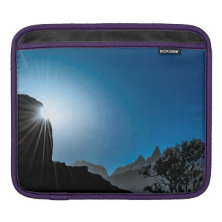 Patagonia Landscape Scene, Aysen, Chile Sleeve For iPads