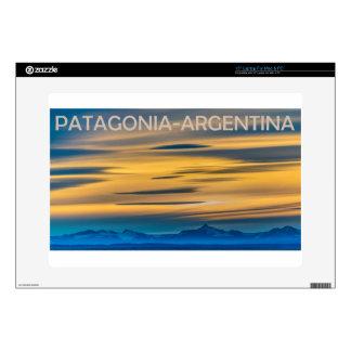 "Patagonia Landscape Sunset Scene, Argentina 15"" Laptop Skin"