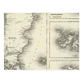 Patagonia las Orcadas del sur Islas Malvinas Postales