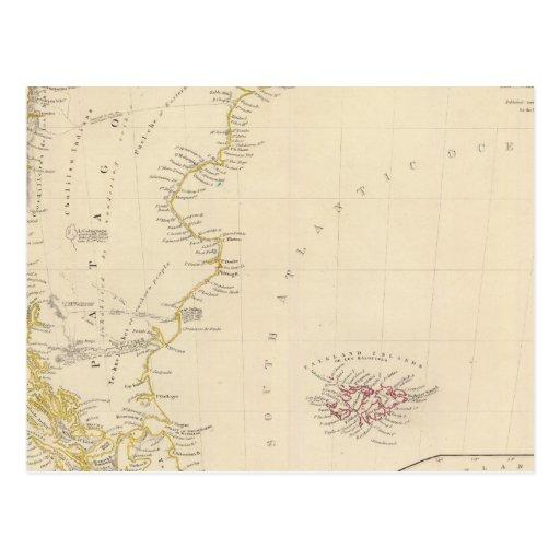 Patagonia, S Shetland, S Orkneys Postales