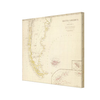 Patagonia, S Shetlands, S Orkneys Canvas Print