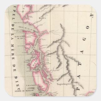 Patagonia, South America 40 Square Sticker