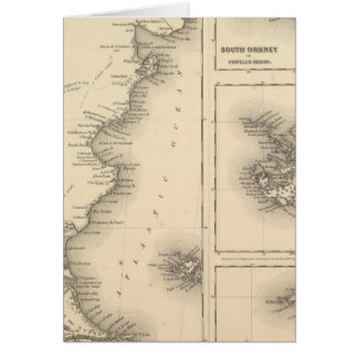 Patagonia South Orkney or Powell's Group Greeting Card