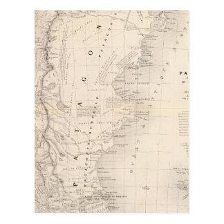 Patagonia, Tierra del Fuego, la Malvinas Tarjeta Postal