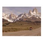 Patagonia, way to El Chaltén Post Cards