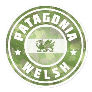 Patagonia Welsh Camo Flag Card