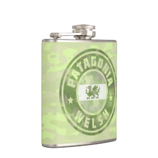 Patagonia Welsh Camo Flag Flask