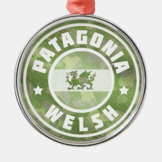Patagonia Welsh Camo Flag Metal Ornament