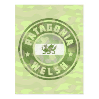 Patagonia Welsh Camo Flag Postcard