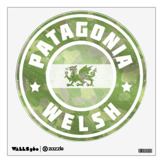Patagonia Welsh Camo Flag Wall Graphic