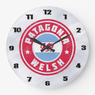 Patagonia Welsh Flag Large Clock