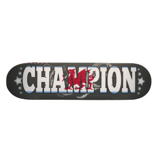 Patagonian and a Champion Skateboard Deck